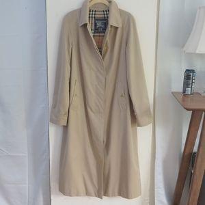 BURBERRY Swing Trench Vintage Tan Novacheck Jacket